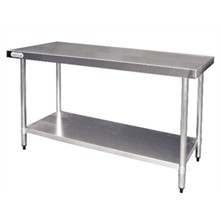 Vogue T377 Stainless Steel Prep Table 1500mm